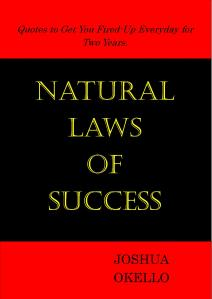 Laws of Success Book Cover
